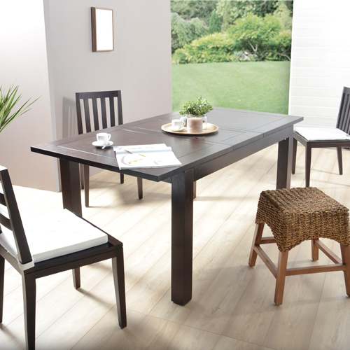Eine praktische Tische aus Mahagoni