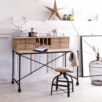 Eine Schreibtisch aus Pine perfekt für Ihre Wohnzimmer